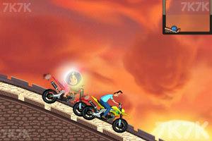 《小头爸爸摩托大赛》游戏画面1