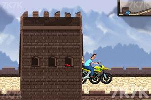 《小头爸爸摩托大赛》游戏画面4