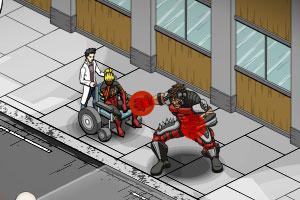 《轮椅拯救超人》游戏画面1