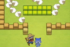 《大灰狼偷羊》游戏画面1