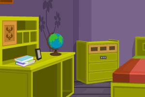 《逃出紫色小屋》游戏画面1