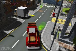 《城市停靠小货车》截图2