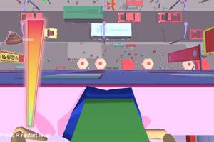 《楼顶落粑粑》游戏画面1
