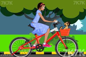 《佐伊骑车摔倒》游戏画面1