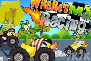 《鳄鱼小顽皮赛车》游戏画面1
