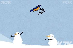 《火柴人冰雪滑板无敌版》游戏画面4