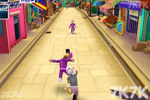 《愤怒奶奶玩跑酷1.8无敌版》游戏画面2