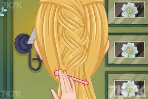 《漂亮的新娘发型》游戏画面4