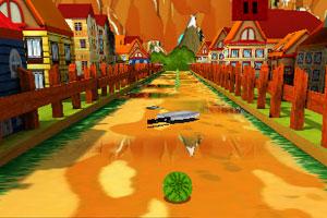 《快跑西瓜》游戏画面1