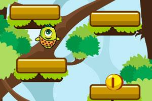 《跳跃的浆果人》游戏画面1