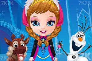 《芭比宝贝变身冰雪公主》截图2