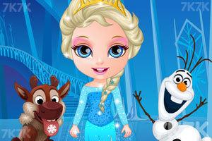 《芭比宝贝变身冰雪公主》截图1