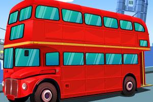 Çift Katlı Otobüs Park Etme