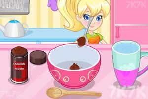 《美味的巧克力冰淇淋》游戏画面1