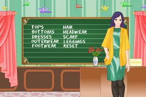 《美丽的艾玛老师》游戏画面1