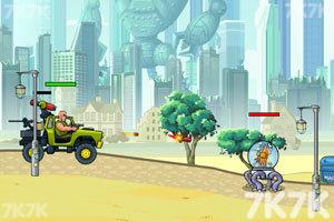 《武装越野车无敌版》游戏画面2