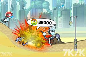 《武装越野车无敌版》游戏画面6