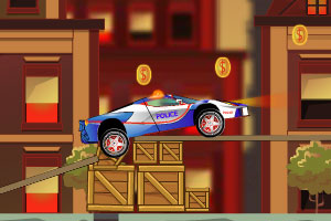 《开着警车去抓贼》游戏画面1