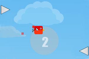 《红色小鸟逃生》游戏画面1