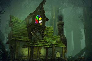 《森林洞穴逃生》游戏画面1
