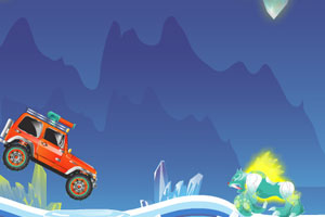 《冰洞驾驶》游戏画面1