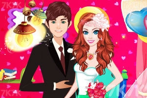 《情人节婚礼》游戏画面1