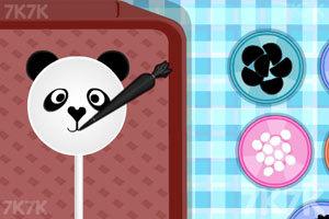 《熊猫迷你棒棒糖》游戏画面1