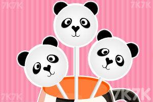 《熊猫迷你棒棒糖》游戏画面3