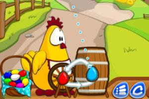 《农场彩蛋泡泡龙》游戏画面1