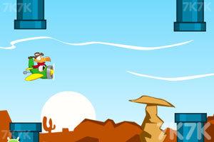 《小鸭子开飞机》游戏画面1