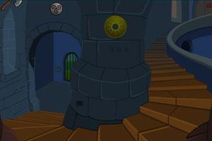 《黑暗城堡逃脱》游戏画面1