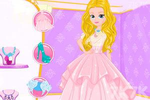 《美女的漂亮的发型》游戏画面1