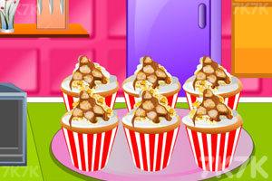 《爆米花巧克力纸杯蛋糕》截图2