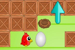 《母鸡推鸡蛋》游戏画面1