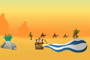 《沙漠大陆逃生》游戏画面1