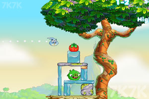 《愤怒的小鸟思黛拉电脑版》游戏画面6