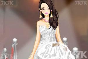 《漂亮的薄纱礼服》游戏画面3