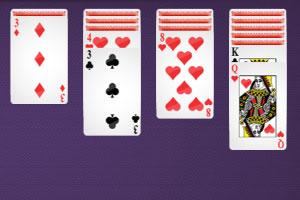 《模式纸牌接龙》游戏画面1