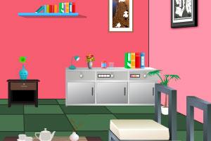 《豪华的客厅逃脱》游戏画面1