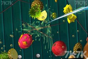 《3D切水果》游戏画面1