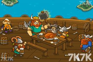 《海盗抢滩登陆战无敌版》游戏画面2