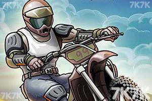 《热力摩托无敌版》游戏画面1