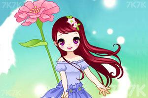 《春天的萌女孩》游戏画面3