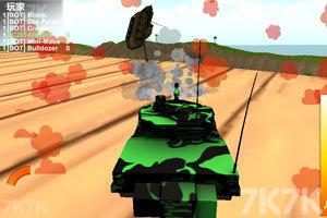 《疯狂驾驶之坦克联盟》游戏画面4