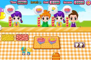 《可爱的糖果小店》游戏画面1