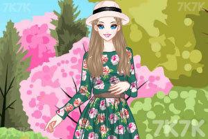 《春天漂亮的裙子》游戏画面2