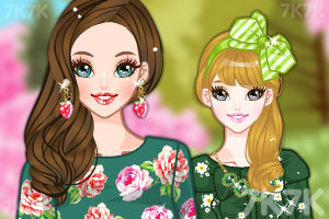 《春天漂亮的裙子》游戏画面1
