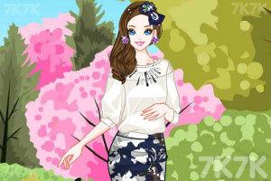 《春天漂亮的裙子》游戏画面3