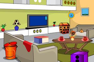 《逃离光客厅》游戏画面1