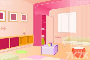 《逃出漂亮的粉红房间》游戏画面1